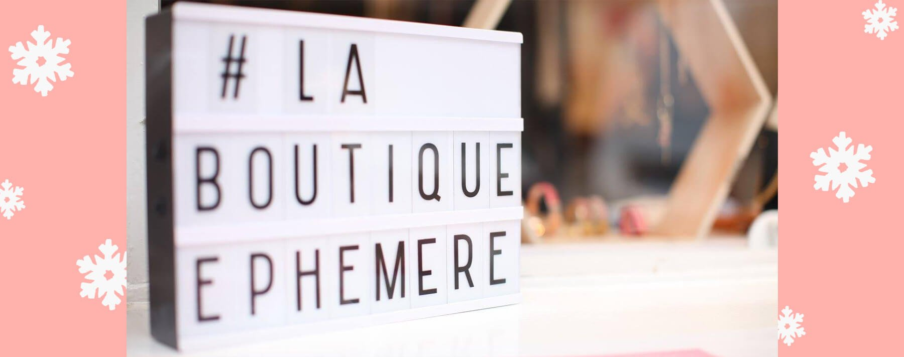 my dear calude à la boutique ephemere