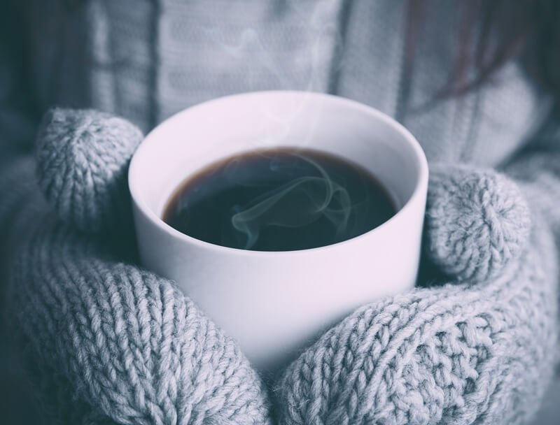 les matières chaudes pour l'hiver