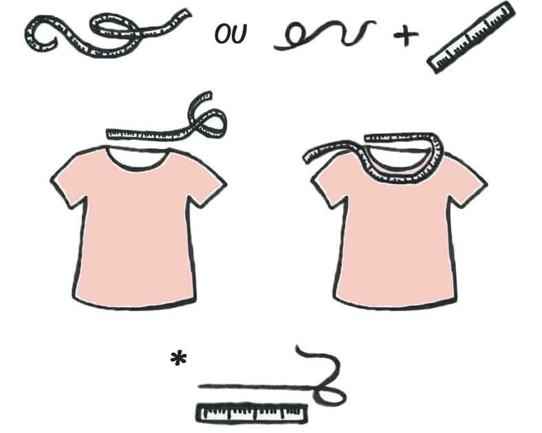 comment mesurer son encolure de t-shirt