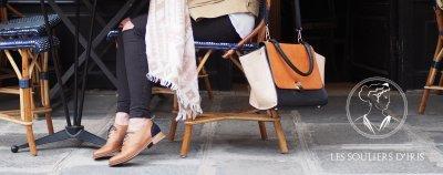 les souliers d'iris chaussures citadine pour femme