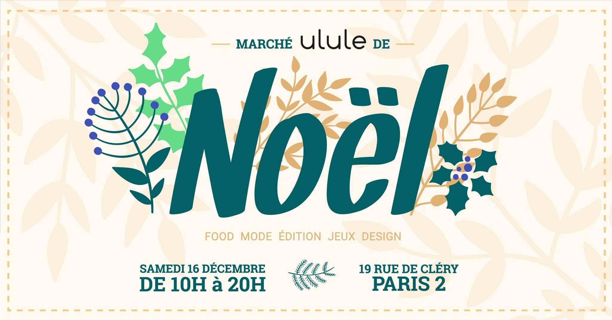 marché de Noël Ulule My dear Claude