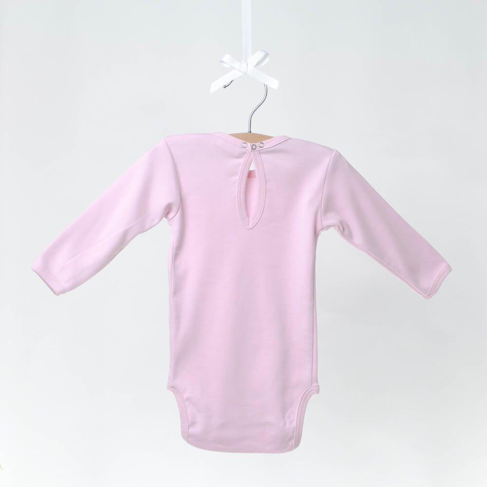 body à col amovible en coton bébé