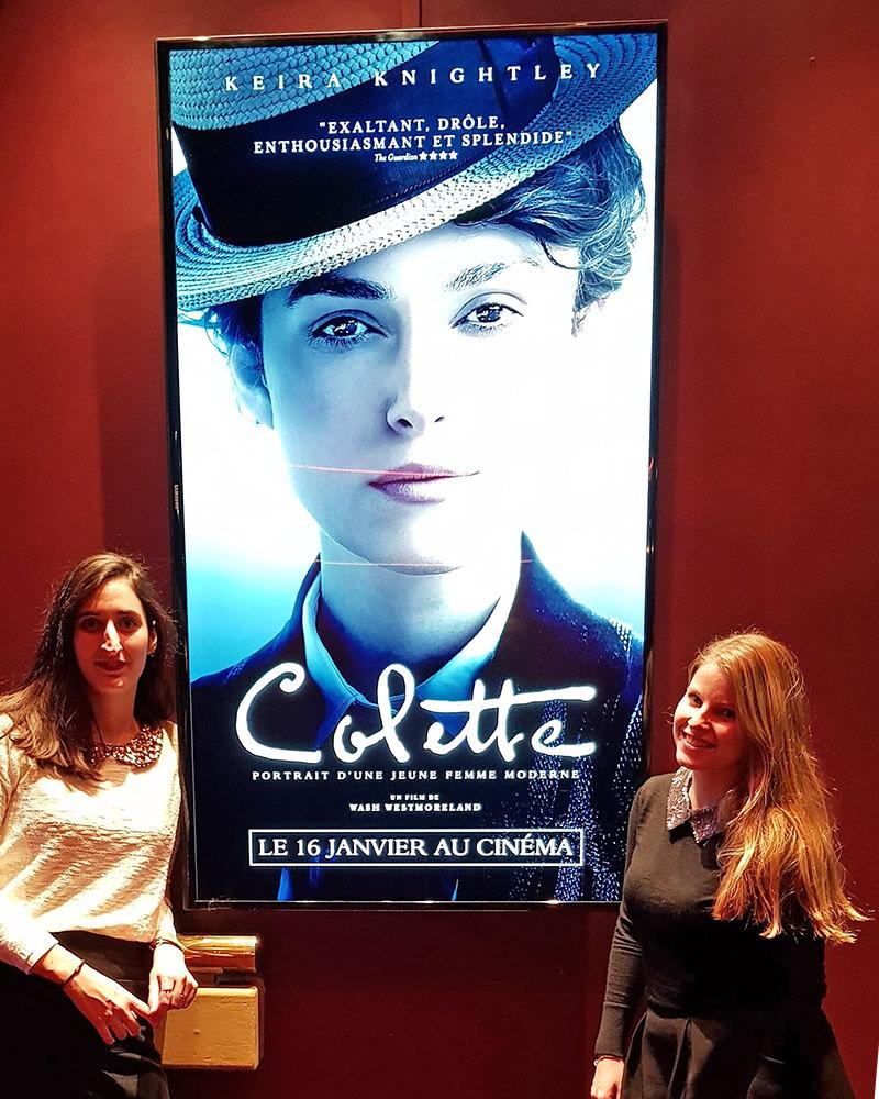 avant première Colette le film Keira Kneightley