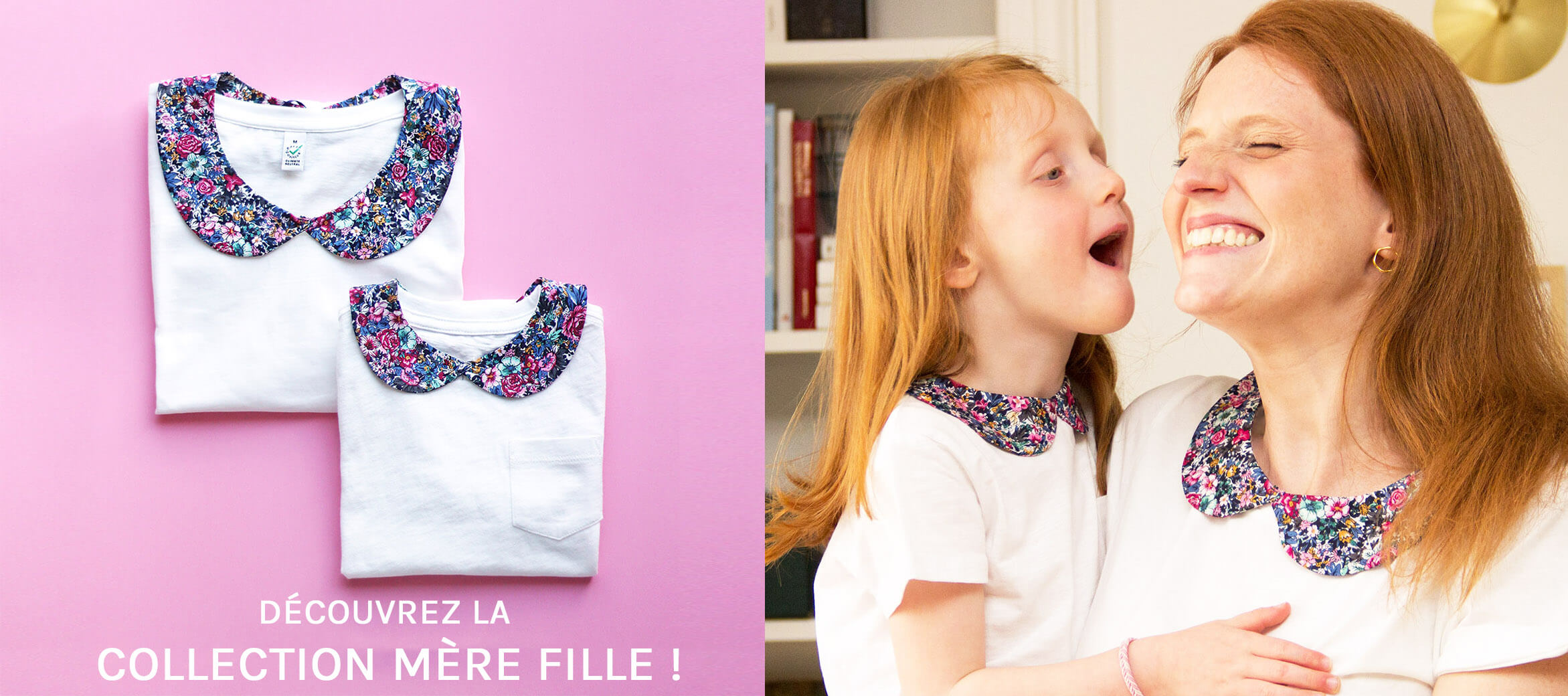 col amovible duo mère fille