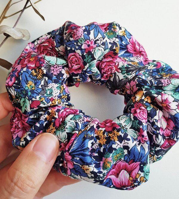 chouchou à fleur